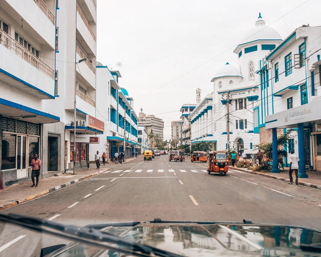Poranek w Mombasie